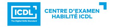 Logo Centre d'Examen Habilité ICDL-1